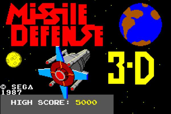 Missile Defense 3-D