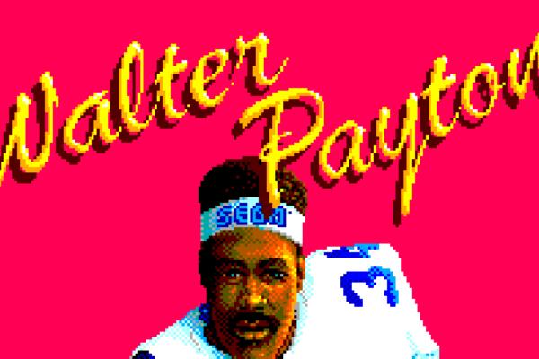 Walter Payton Football / American Pro Football