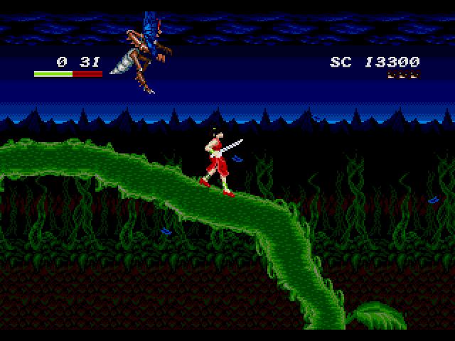 Mamono Hunter Yōko (Mega Drive, 1991)