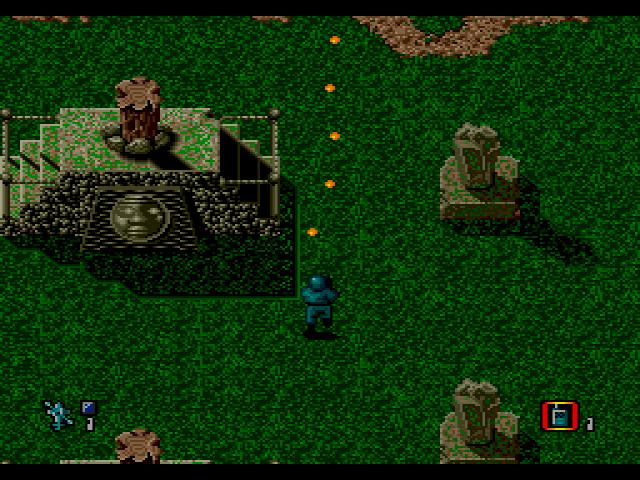 CrossFire (Genesis, 1991)